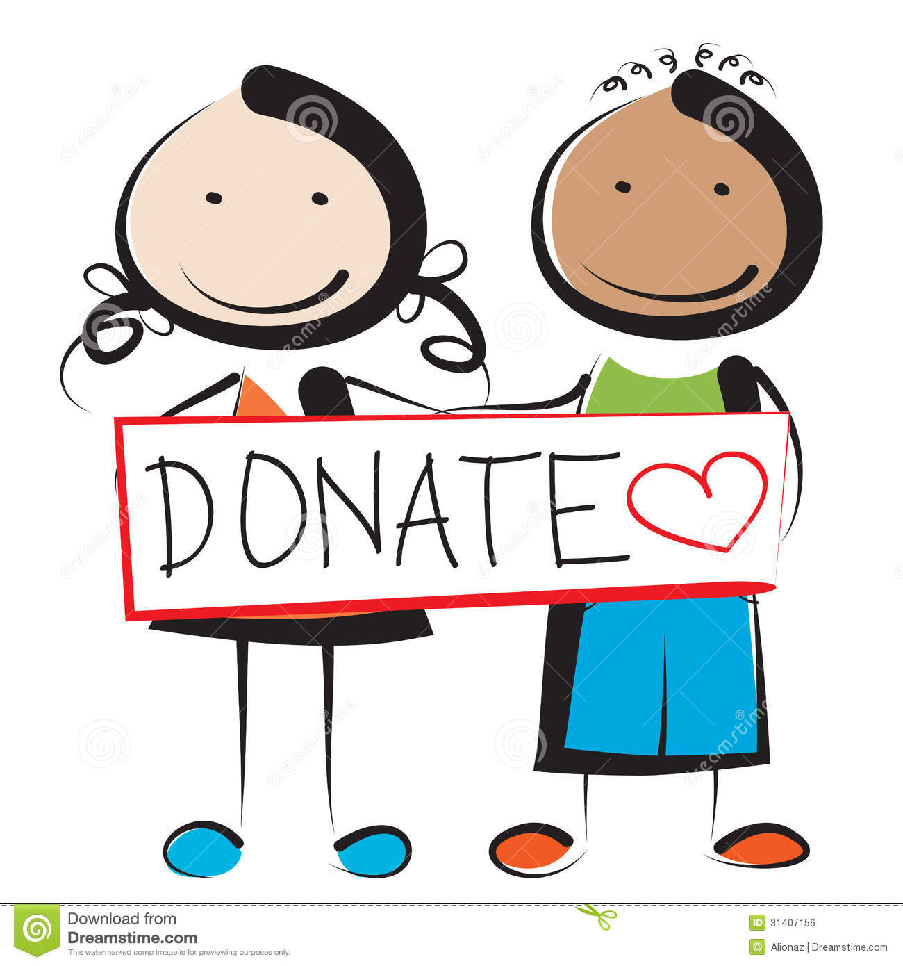 donation-clipart-donate-illustration-children-holding-sign-31407156